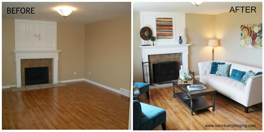 91 Staging A Living Room Before And After San Ramon