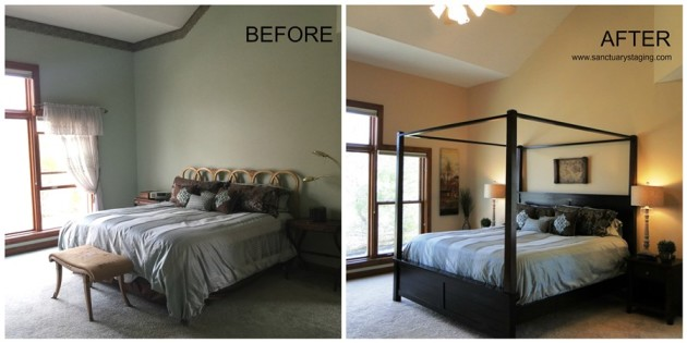 resize Ashcroft master bed before and after