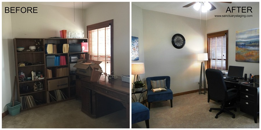 resize Ashcroft office before after
