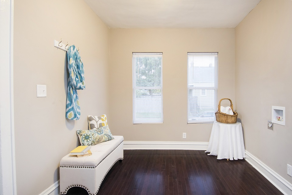 Staged by Sanctuary Staging, Photo by Karli Moore Photography